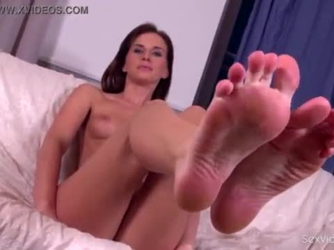 Sex video casting for foot fetish with shy girl adina dena