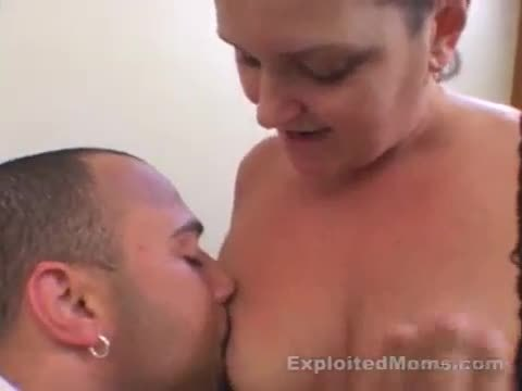 Mom w big tits loves riding a big black cock in mature interracial video